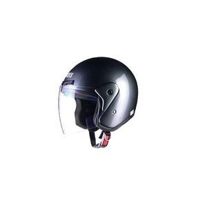 全排気量対応 CR-720 スタンダード ジェットヘルメット ガンメタリック