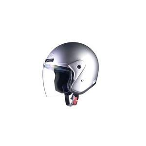 全排気量対応 CR-720 スタンダード ジェットヘルメット シルバー