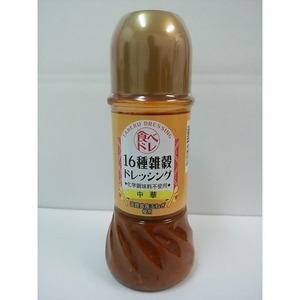 国産雑穀を16種類配合した化学調味料不使用のドレッシング(中華)250ml×12本