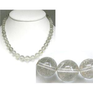 白針入り水晶 ネックレス