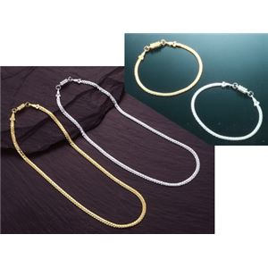 平喜平磁気ブレス&ネックレス ゴールド