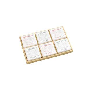 サボンドマルセイユ マルセイユ石鹸 【6個セット】 全身用 パーム・オリーブ各3個 フランス製