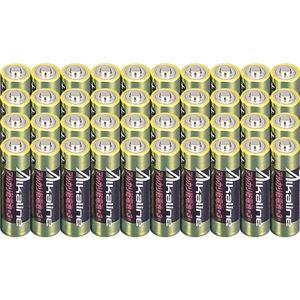 (まとめ)メモレックス・テレックス アルカリ乾電池単3形 LR6/1.5V40S 1セット(400本:40本×10パック)【×3セット】