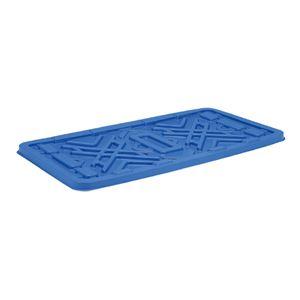 (業務用2個セット)三甲(サンコー) 超大型コンテナ ジャンボックス用蓋 【#1200】 単品 ブルー(青) 【×2セット】