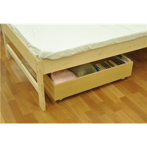 ベッド下収納BOX ナチュラル