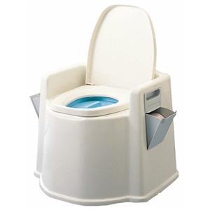 テイコブポータブルトイレ(肘掛け付)