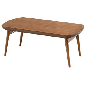 折れ脚こたつテーブル ビーグル 本体 【長方形】 幅90cm×奥行50cm 木製 木目調 【完成品】