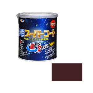 アサヒペン AP 水性スーパーコート 1.6L ブラウン