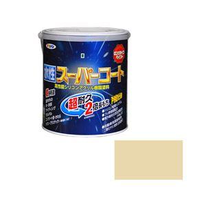 アサヒペン AP 水性スーパーコート 1.6L ティントベージュ