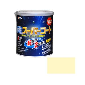 アサヒペン AP 水性スーパーコート 1.6L アイボリー