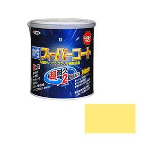 アサヒペン AP 水性スーパーコート 1.6L クリーム色