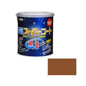 アサヒペン AP 水性スーパーコート 1.6L バーチブラウン