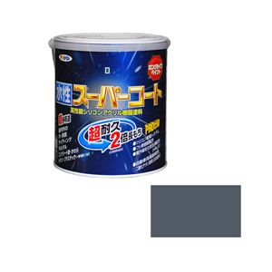 アサヒペン AP 水性スーパーコート 1.6L グレー