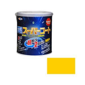 アサヒペン AP 水性スーパーコート 1.6L 黄色