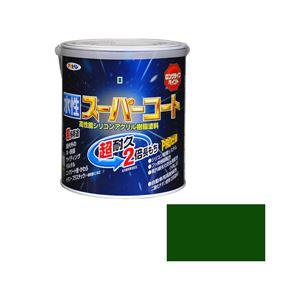 アサヒペン AP 水性スーパーコート 1.6L 緑