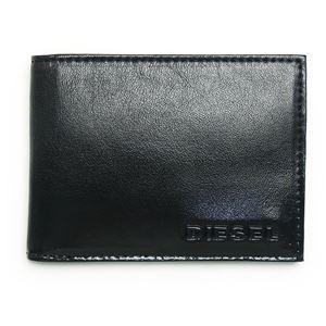 DIESEL (ディーゼル ) X02455 P0239 T8013 二つ折り財布 Black