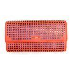 DIESEL (ディーゼル ) X03679 PR317 H5880 Spicy Orange/Dazzling 長財布