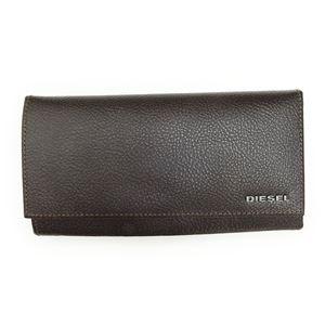 DIESEL (ディーゼル ) X03797 P0396 T2184 Coffee Bean 長財布