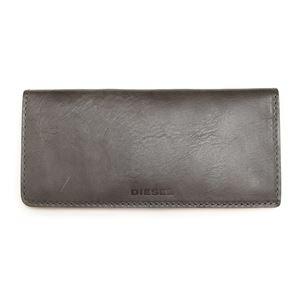 DIESEL (ディーゼル ) X03808 P0231 T8081 Grey Gargoyle 折財布