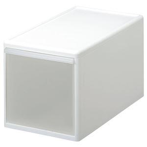 収納ケース(プラスチックケース/収納ボックス) 幅25.5cm×高さ28cm 『ユニコム』