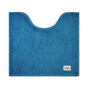 オカトー トイレマット カラーモード プレミアム 55×60cm ターコイズブルー ( トイレタリー )