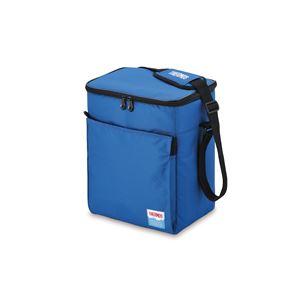 【THERMOS サーモス】 クーラーバッグ/保冷バッグ 【15L ブルー】 メッシュポケット付き 5層断熱構造 ソフトクーラー