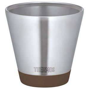 【THERMOS サーモス】 真空断熱カップ/タンブラー 【モカ 400ml】 保温・保冷力抜群
