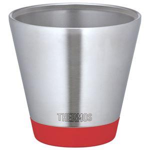 【THERMOS サーモス】 真空断熱カップ/タンブラー 【トマト 400ml】 保温・保冷力抜群