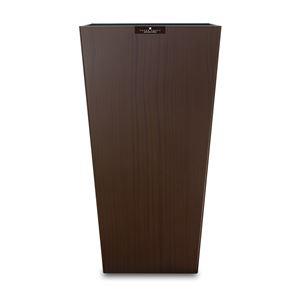 橋本達之助工芸 ダストBOX L角 ッドグレイン ブラウン(BW) Lサイズ 9.5L 149400 (ごみ箱)