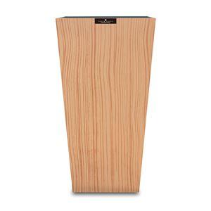橋本達之助工芸 ダストBOX L角 ウッドグレイン ベージュ(BE) Lサイズ 9.5L 149417 (ごみ箱)