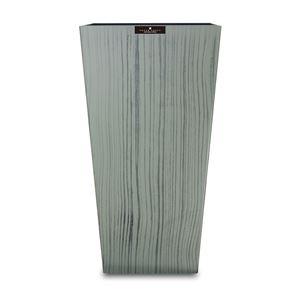 橋本達之助工芸 ダストBOX L角 ウッドグレイン グレー(GY) Lサイズ 9.5L 149431 (ごみ箱)