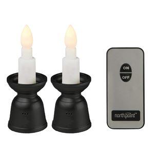 LEDローソク ミニ 2/仏具 【コンパクトサイズ】 リモコン式 約10分で自動消灯