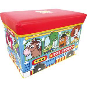 ストレージボックス/収納ボックス 【トイストーリー】 耐荷重80kg 幅48cm 折りたたみ可 〔子供部屋収納 キッズ収納箱〕