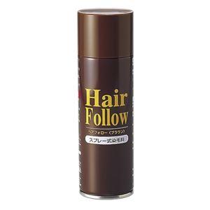 薄毛スプレー ヘアフォロー HairFollow ブラウン 150g