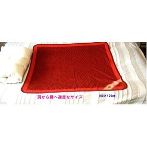 マイナスイオン 快眠ぐっすりシート 100×100cm 日本製