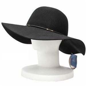 SCALA キャペリン フェルト ハット レディース HAT Black(黒) フリーサイズ