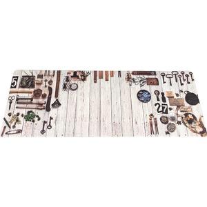 キッチンマット キッチン マット 台所 汚れに強い PVC キッチンマット ティンバー 45x180cm