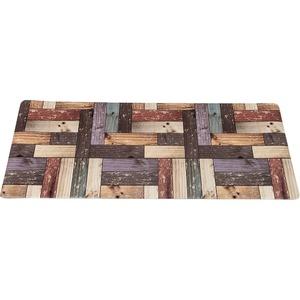 キッチンマット キッチン マット 台所 汚れに強い PVC キッチンマット フロアキッチン 45x180cm ブラウン