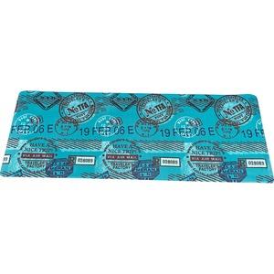 キッチンマット キッチン マット 台所 汚れに強い PVC キッチンマット スタンプ 50x80cm ブルー
