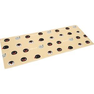 大人気 キャラクター ピングー キッチンマット 汚れに強い PVC キッチンマット ピングー 45x180cm ベージュ