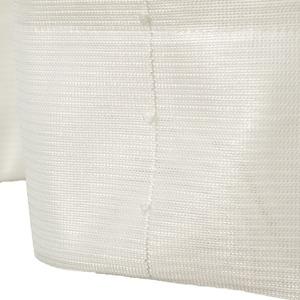刺繍 レースカーテン ライン柄 幅150×丈223cm 1枚入 ホワイト ピコン