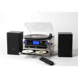 とうしょう CDにコピーできる多機能プレーヤー TCDR-286WC
