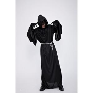 コスプレ衣装/パーティーグッズ 【ブラックフェイスローブ】 仮装 イベントグッズ 舞台小物