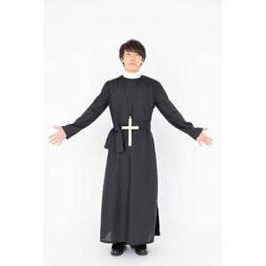 コスプレ衣装/パーティーグッズ 【神父】 仮装 イベントグッズ 舞台小物