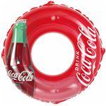 浮き輪 【120cm】 コカ・コーラ コンツアーボトル柄 塩化ビニール樹脂製 〔プール ビーチ 海外旅行〕
