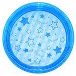 ビニールプール 【円形 ブルー】 直径100cm 重さ1200g 塩化ビニール製 〔水遊び〕