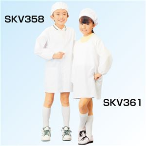 学童給食衣割烹着型 10号 SKV361