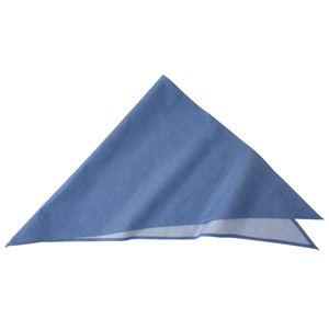 ダンガリー三角巾 ブルー KMB2940-2