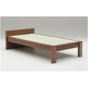 畳ベッド【フレームのみ】【スミカ】 (シングル・ブラウン・フラットタイプ) グランツ GLANZ