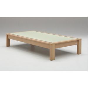 畳ベッド【フレームのみ】【スミカ】 (セミダブル・ナチュラル・ヘッドレス) グランツ GLANZ